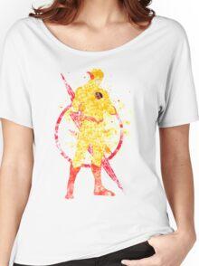 Supervillian Splatter Art Women's Relaxed Fit T-Shirt