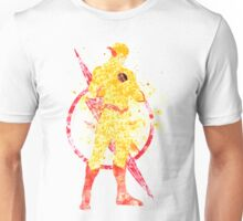 Supervillian Splatter Art Unisex T-Shirt
