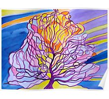 warming tree....... Poster