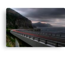 Storm Cliff Bridge Canvas Print
