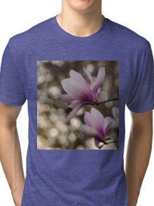 Magnolia at night  Tri-blend T-Shirt