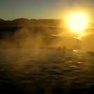 Hot Springs At Sunrise by Mark Cassidy