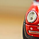 Mini Cooper miniature red car by InfotronTof
