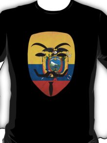 Anonymous Ecuador T Shirts, Stickers and Other Gifts T-Shirt