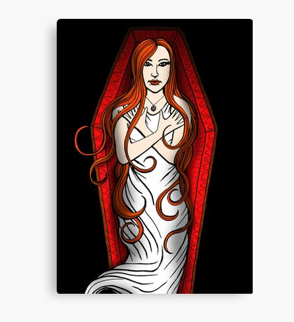 Daughter of the Night Canvas Print