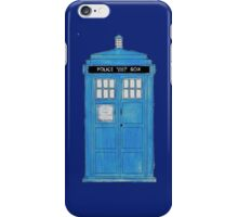 TARDIS Deflector. iPhone Case/Skin