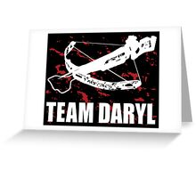 Team Daryl Dixon The Walking Dead Greeting Card