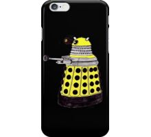New Paradigm Dalek--Yellow, Watercolour. iPhone Case/Skin