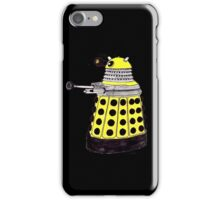New Paradigm Dalek--Yellow, Watercolour. iPhone Case/Skin