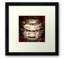 Alternative Faces Series - APPEEL Framed Print