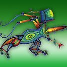 3d robot insect - m. a. weisse by fuxart
