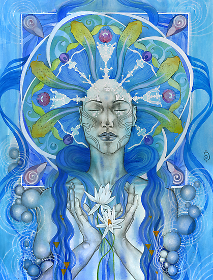Materia: Water by Patricia Ariel