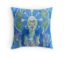 Materia: Water Throw Pillow