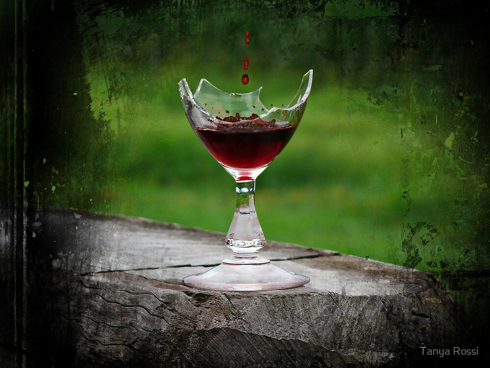 Wine Break by Tanya Rossi