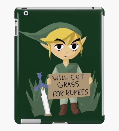 Looking For Work iPad Case/Skin