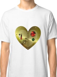 Steampunk Valentine's Day Heart Classic T-Shirt