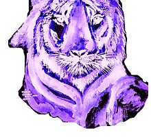 Purple Tiger by Shoshonan