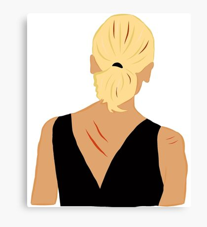 Back to Buffy Canvas Print