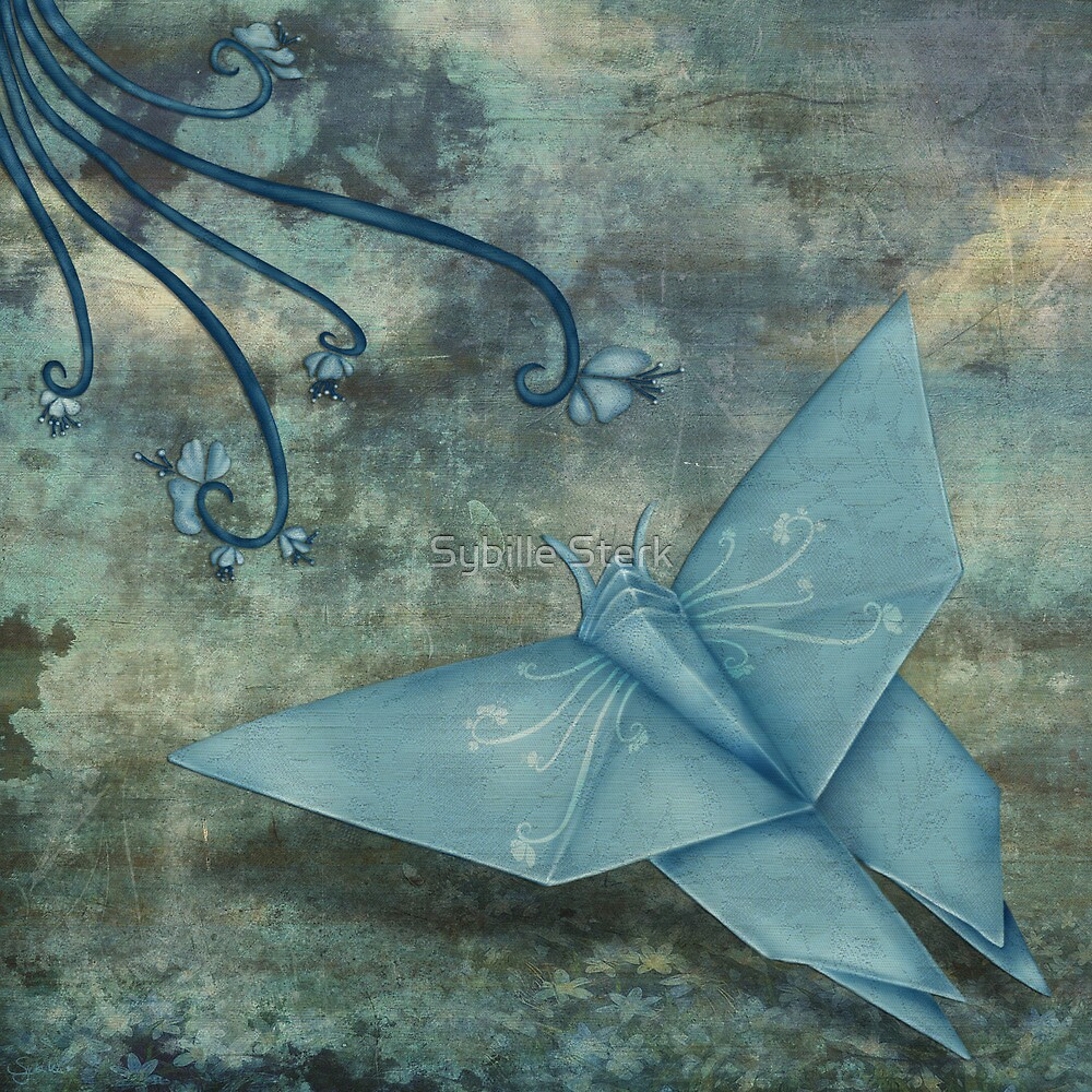 Origami Butterfly by Sybille Sterk