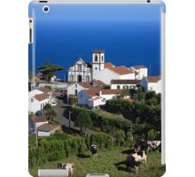 Parish in the Azores islands iPad Case/Skin