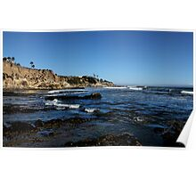 The Cliffs of Pismo Beach Poster