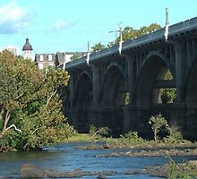 Gervais Street Bridge, Columbia, SC by Debbie Moore