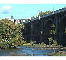 Gervais Street Bridge, Columbia, SC Photographic Print