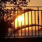 Corfu Sunset by Hazel Dean