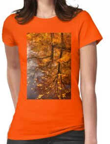Fall Reflection  Womens Fitted T-Shirt