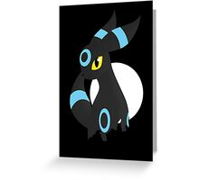 Shiny Umbreon Greeting Card