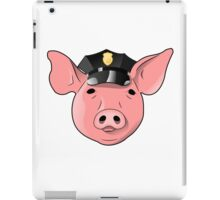 Pig in a hat iPad Case/Skin