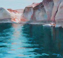 Shadows of Lake Powell by PierceClark