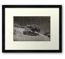 Just A Few Small Hours Framed Print