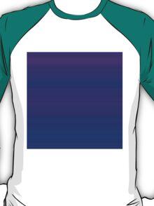 Blue-Violet Stripes T-Shirt