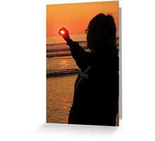 Cornwall: Don't let the Sun Go Down on Me Greeting Card