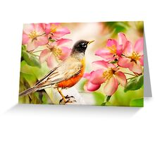 Spring Song Greeting Card