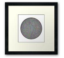 temari ball Framed Print