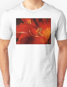 Blood-red Flowers T-Shirt