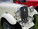 White & Red Singer classic cars by buttonpresser