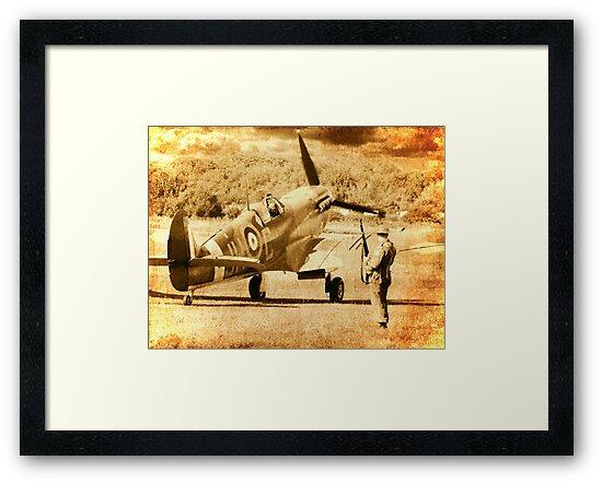 It`s a Squadron Scramble - 1940 by Colin  Williams Photography