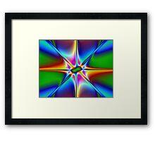 Prismatic Framed Print