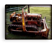 Old Equipment Canvas Print