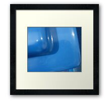 Mystery puzzle: What is this blue thing? SOLVED by PhoenixArt!! Framed Print