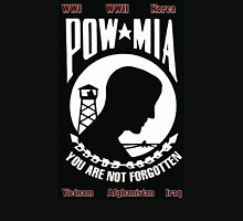 POW MIA Flag - You Are Not Forgotten Unisex T-Shirt