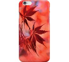 Japanese Red Maple 2 iPhone Case/Skin