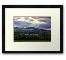 The Lady Vic And Beyond Framed Print