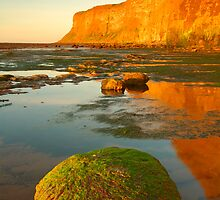 Huntsman Cliff, Saltburn-by-the-Sea, Cleveland by James Paul