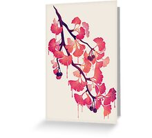 O Ginkgo Greeting Card
