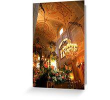 Andor no Altar...Nª Sª da Rocha Greeting Card