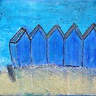Summer Beach Huts by Capriblue